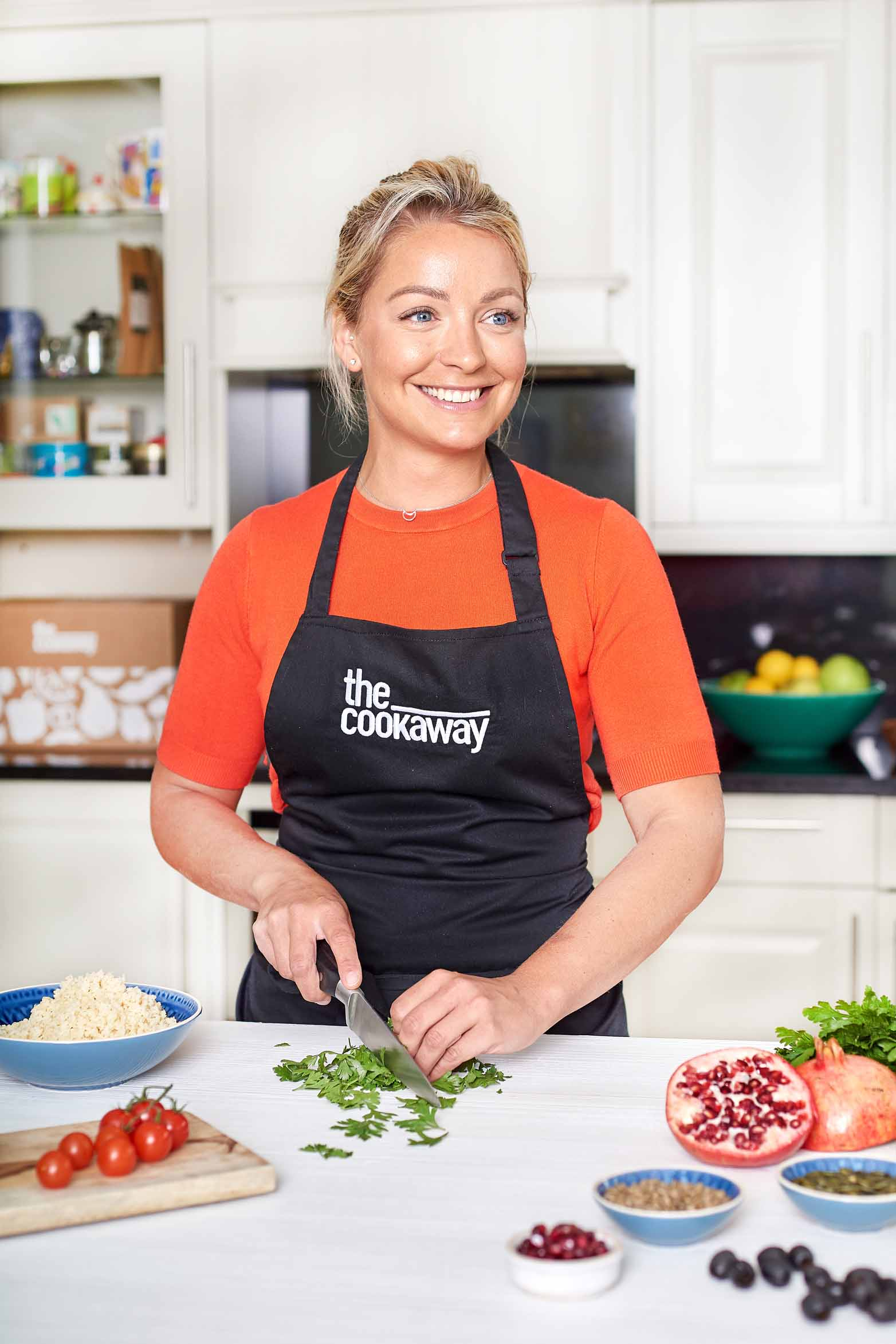 Cookaway Chef Claire Hutchings