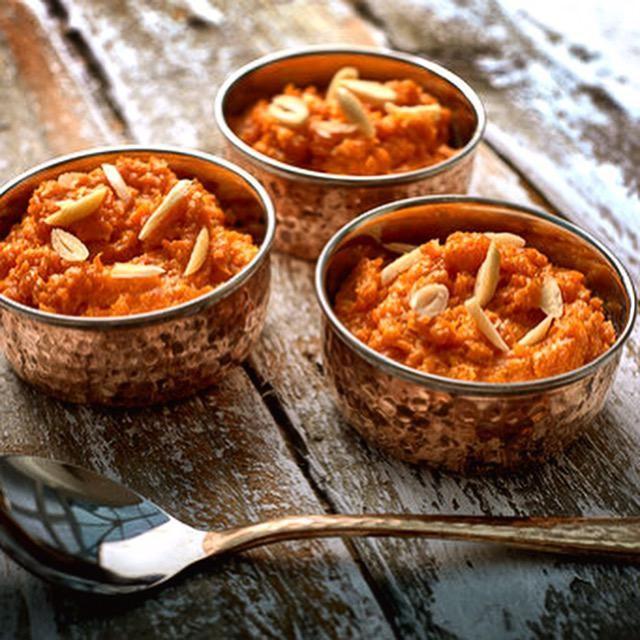 Diwali dessert carrot halwa
